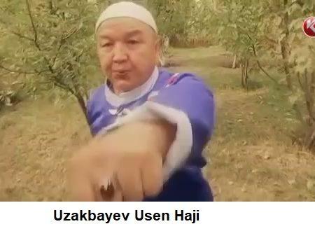 Il Bakshi (sciamano) kazako di arti marziali
