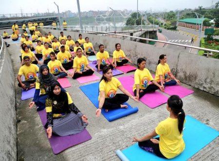 Uno stile di vita yogico in Bangladesh