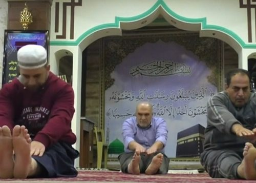 La moschea di Halabja pratica l'attività fisica